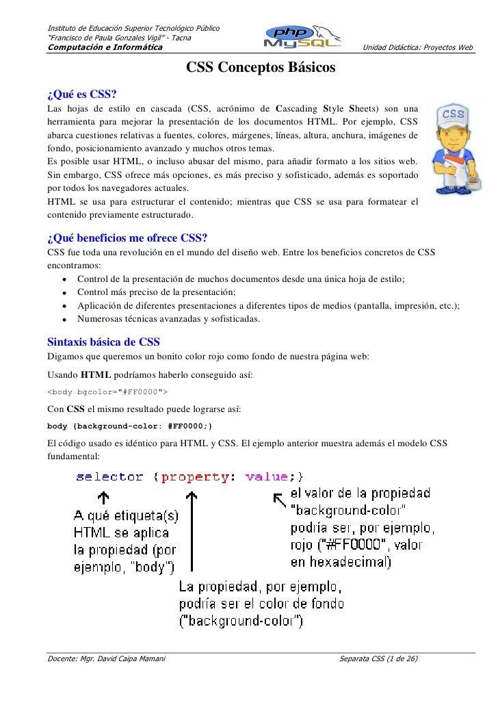 """Instituto de Educación Superior Tecnológico Público""""Francisco de Paula Gonzales Vigíl"""" - TacnaComputación e Informática   ..."""