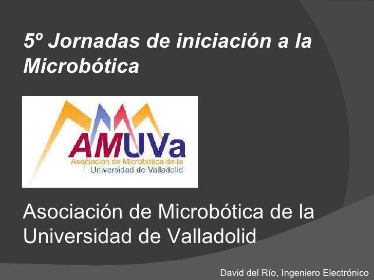 5º Jornadas AMUVA - Introduccion