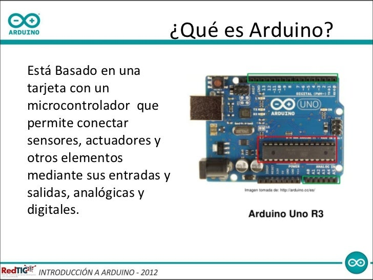 Introduccion a arduino
