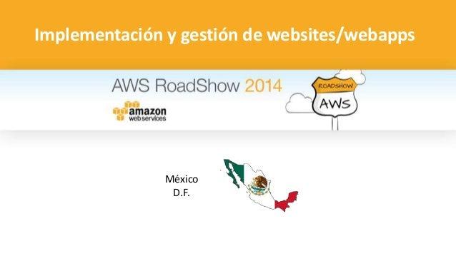 Implementación y gestión de websites/webapps  México  D.F.