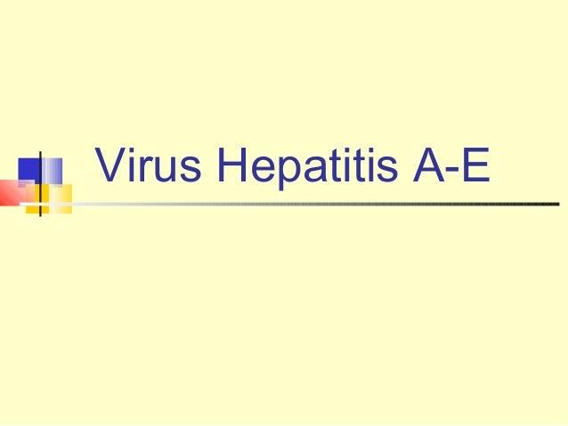 Virus Hepatitis A-E
