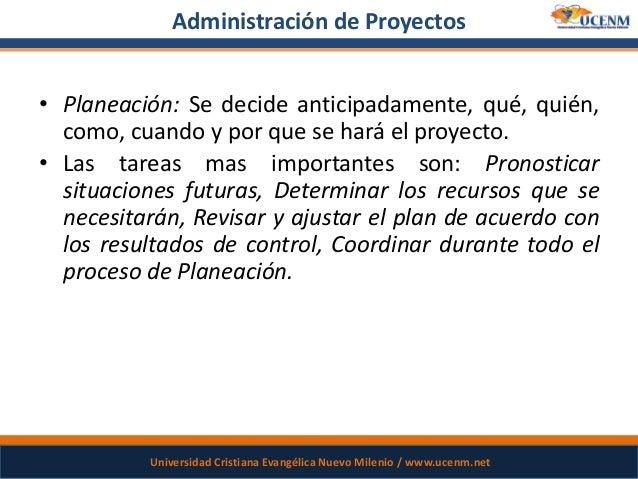 Introduccion a la administracion de proyectos for Administracion de proyectos