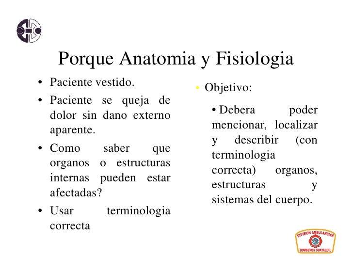 Introduccion a la anatoma y fisiologia