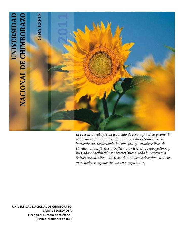 UNIVERSIDAD                                       2011                          GINA ESPINNACIONAL DE CHIMBORAZO          ...