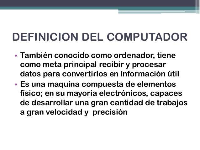 Introduccion a la informatica Slide 2