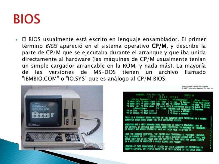 Conceptos b sicos del encendido del cpu bios cmos setup for Que significa hardware
