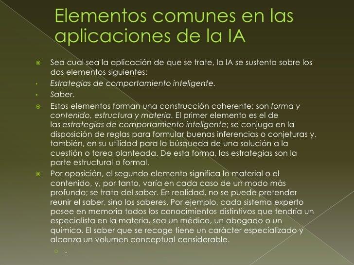    Los lenguajes básicos son:    › Lisp (Funcional)    › Prolog, CHIP, OPS5 (Declarativos)    › SmallTalk, Hypercard, Clo...