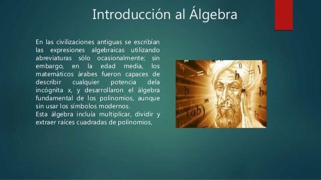 Introduccion al algebra Slide 3