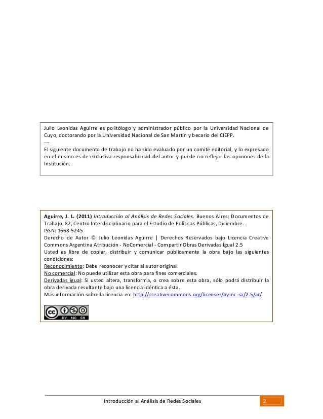 Introduccion al analisis_de_redes_social Slide 2