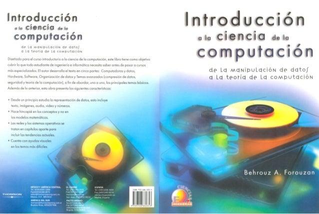 Introduccion a las ciencias computacionales
