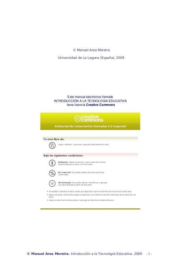 Introduccion a la tecnología educativa Slide 2
