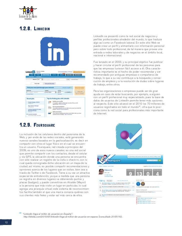 1.2.8. Linkedin                                                                              LinkedIn se presentó como la ...