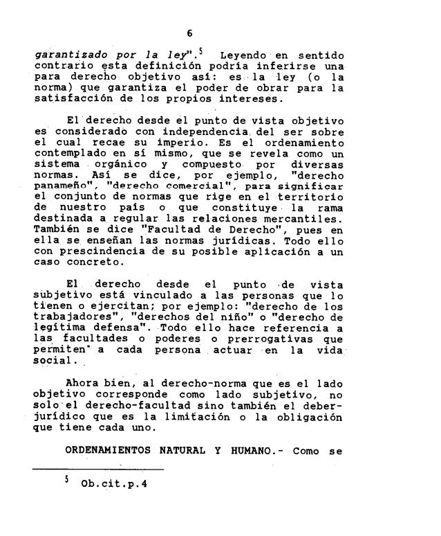 Introduccion Al Derecho Por Julio Alfredo Sousa Lenox
