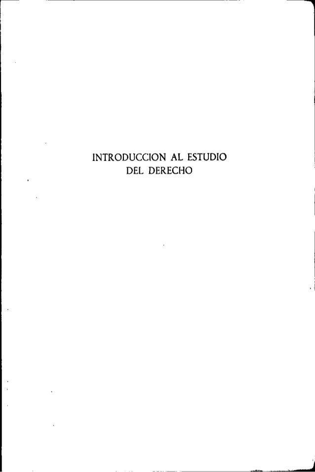 Introduccion al estudio del derecho - Eduardo Garcia Maynez