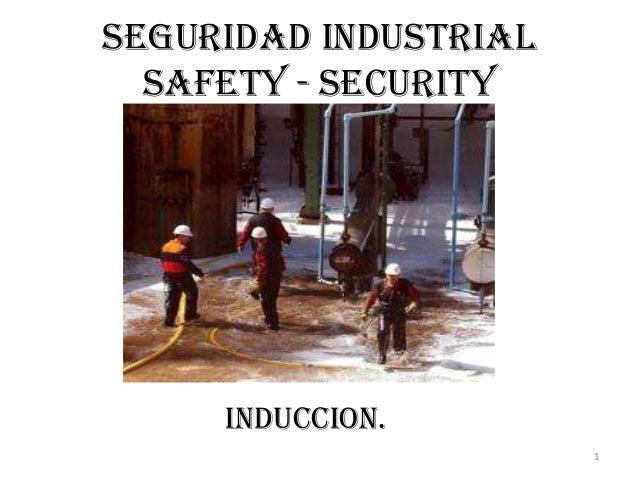 1SEGURIDAD INDUSTRIALSAFETY - SECURITYINDUCCION.