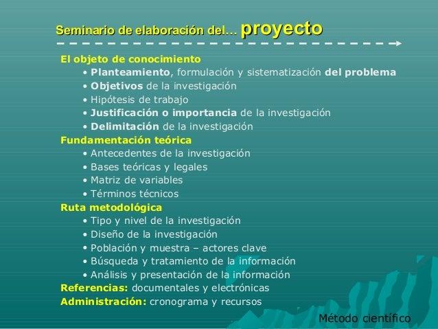 Introduccion al seminario Slide 3