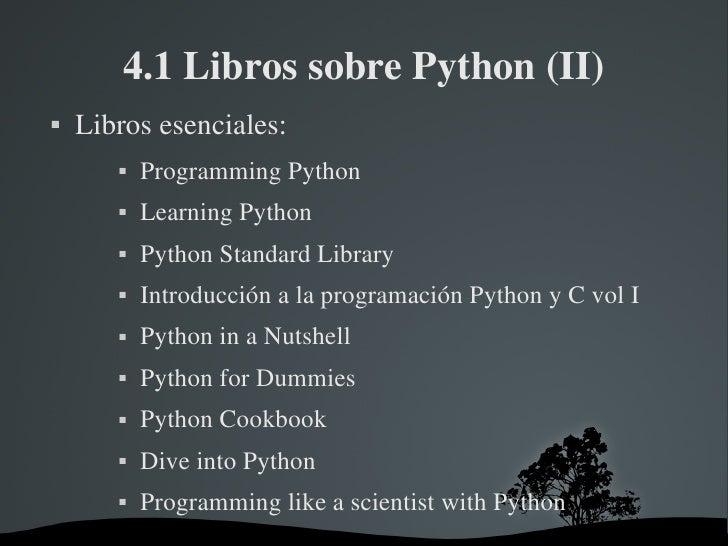 Introduccion a python - Dive into python ...