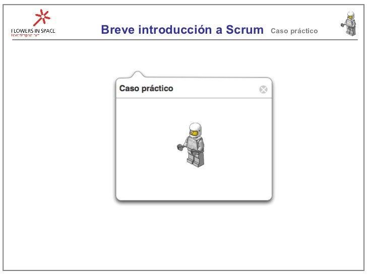 Breve introducción a Scrum Caso práctico