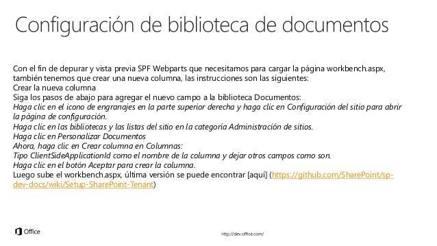 www.nodejs.org www.gulpjs.com https://www.typescriptlang.org www.yeoman.io www.git-scm.com/ dev.office.com/fabric webpack....