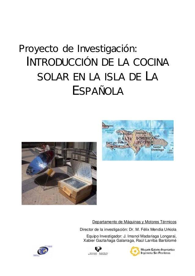 Introduccion de la cocina solar for Introduccion a la gastronomia pdf