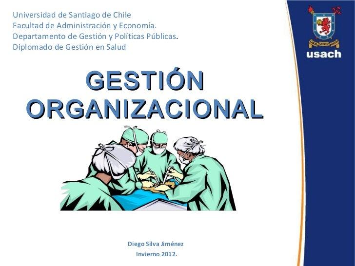 introducci n gesti n organizacional dgs 2012