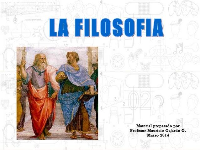 Material preparado por Profesor Mauricio Gajardo G. Marzo 2014