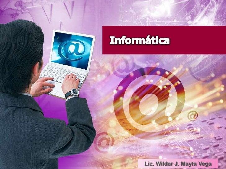 Informática<br />