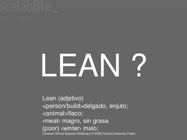 Introduccion a lean startup Slide 2