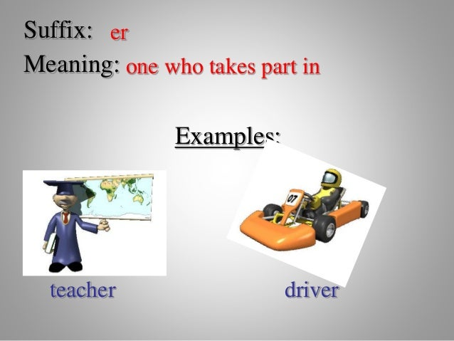 Introduce prefixes suffixes roots affixes power point