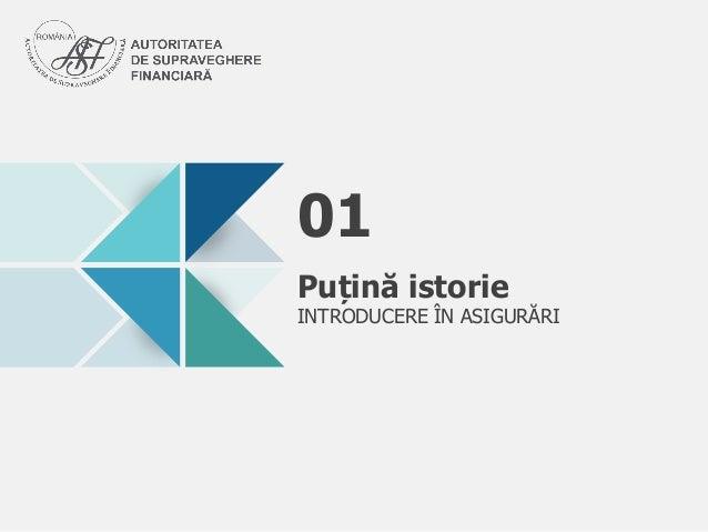 Puin Istorie INTRODUCERE N ASIGURRI 01