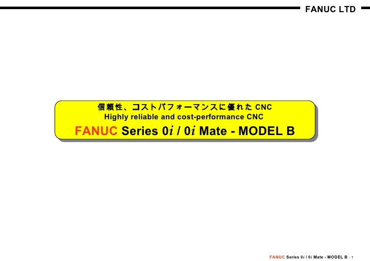 Fanuc 11 parameter manual