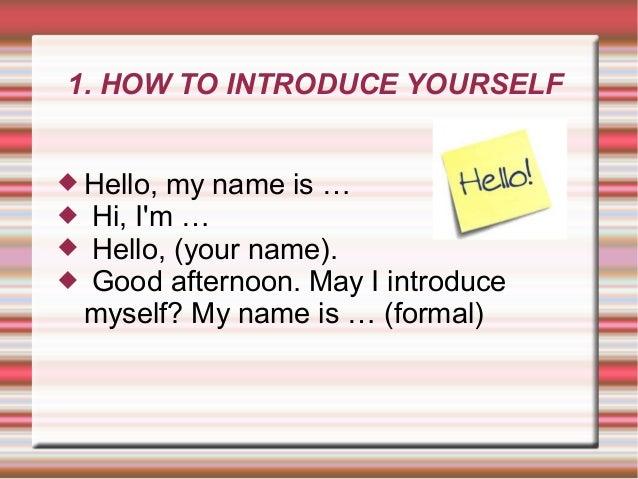 Introduce Yourself Job Interview Noelia Box