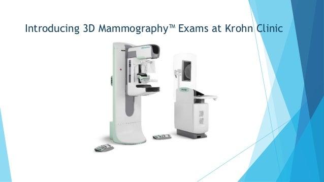 Introducing 3D Mammography™ Exams at Krohn Clinic