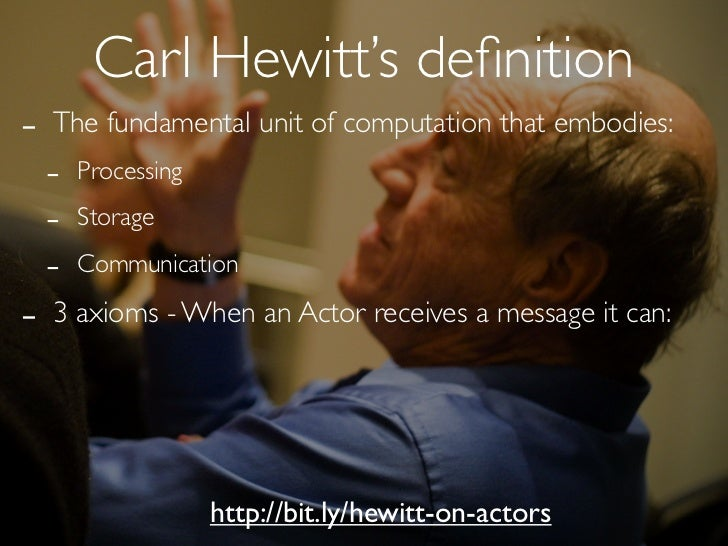 0. DEFINE                        Define the message(s) the Actor                         should be able to respond topublic...