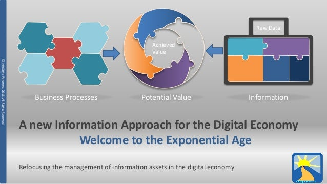 ©InfoSightPartners,2016,AllRightsReserved A new Information Approach for the Digital Economy Welcome to the Exponential Ag...