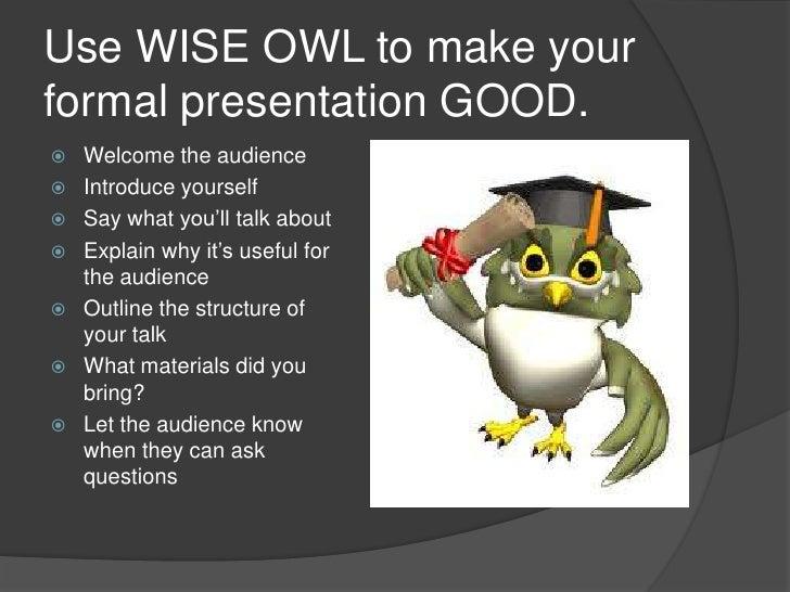 A presentation about