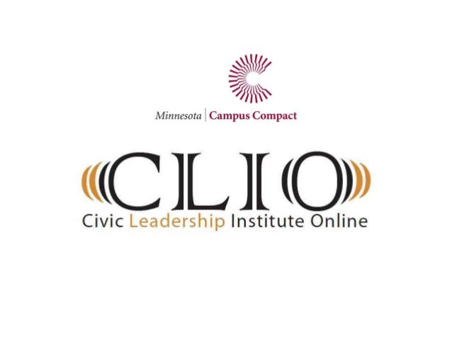 CLIO provides freedigital resources forMinnesota educators andstudents to explore therich world of communityengagement.