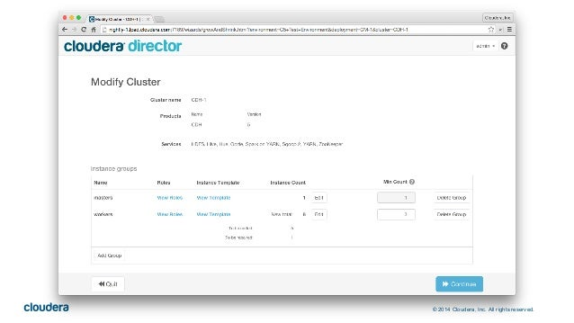 © 2014 Cloudera, Inc. All rights reserved.