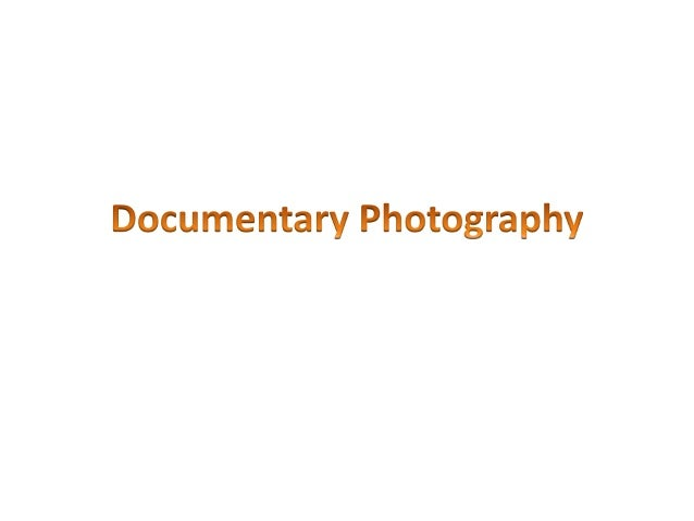 On the post it notes write down what you thinkdocumentary photography is• What are the key skills that it uses?• Name as m...