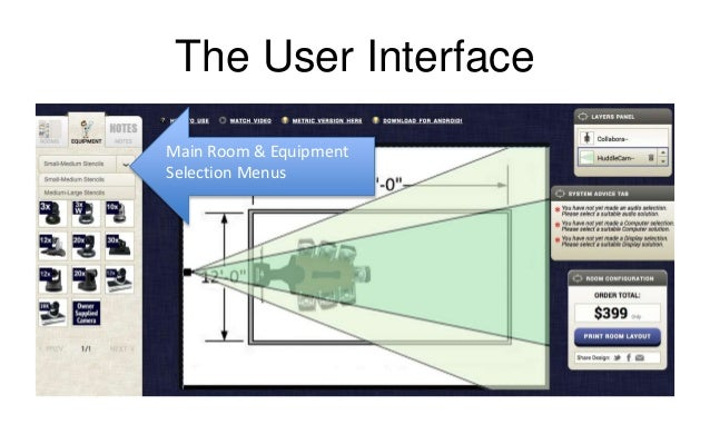 Introducing the HuddleCamHD online room design tool