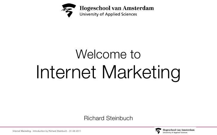 Welcome to                      Internet Marketing                                                                      Ri...