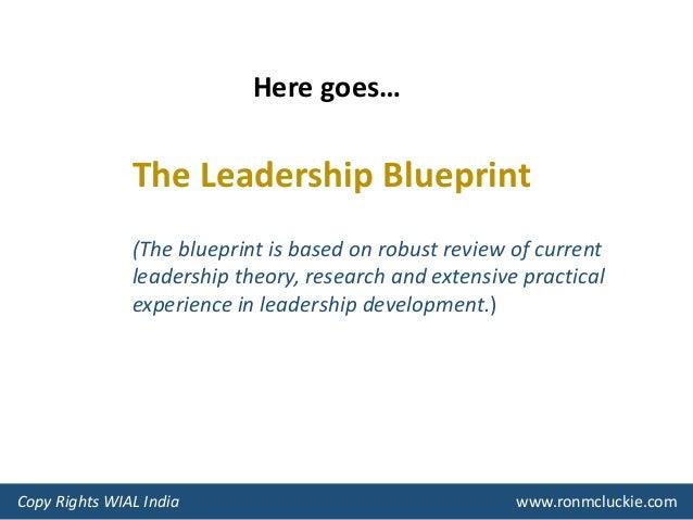 Introducing leadership blueprint 3 the leadership blueprint malvernweather Images