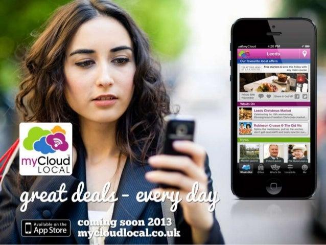 Introducing myCloud Local  - Sales Presenter Feb 2013