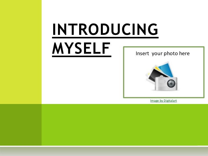Introducing myself template for Template for introducing yourself