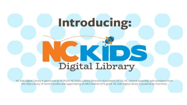 Introducing the NC Kids Digital Library!