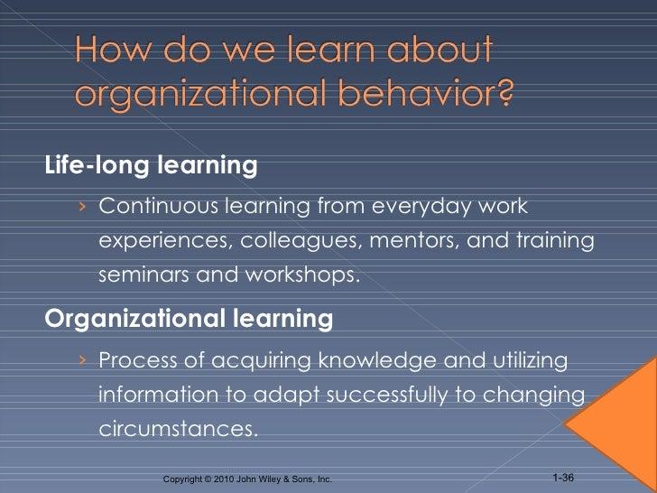 introducing organizational behavior and management Organizational behavior as well as identity in organizational process journals of organizational behavior academy of management journal.