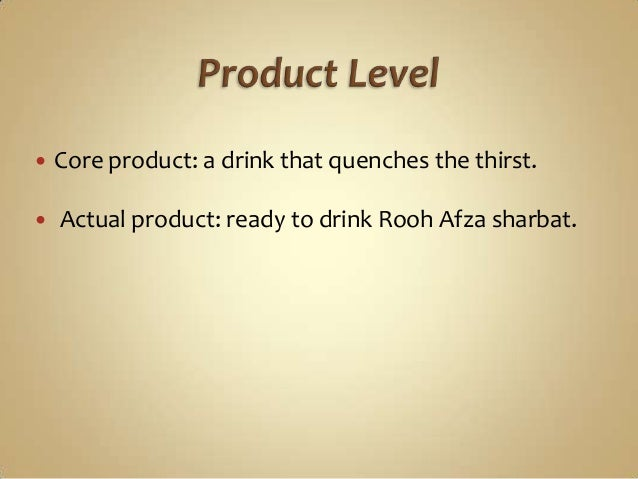 brand management rooh afza Rooh afza is a non-alcoholic concentrated squash it was formulated by hakeem  hafiz abdul  to create new mocktail and dessert recipes for rooh afza, their all  season summer drink, which was used in a new marketing campaign.