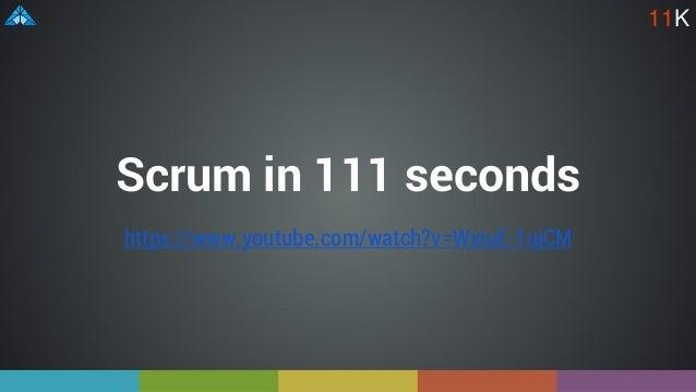 https://www.youtube.com/watch?v=WxiuE-1ujCM Scrum in 111 seconds 11K