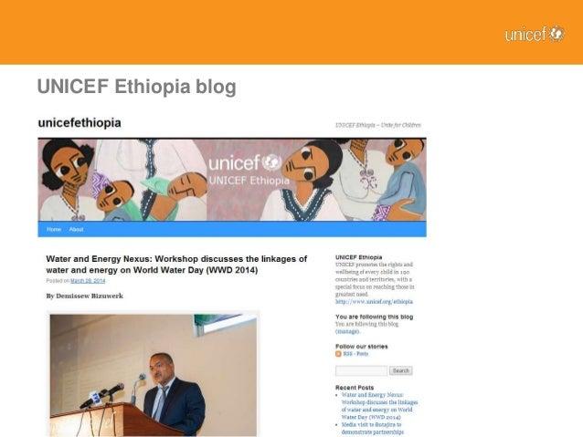 Introducing Digital Media at UNICEF Ethiopia