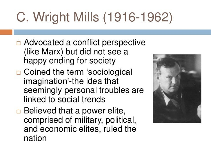 the power elite c. wright mills essay Domhoff and hoyt ballard, eds, c wright mills and the power elite (boston:   on the career and example of c wright mills, in steady work: essays in.